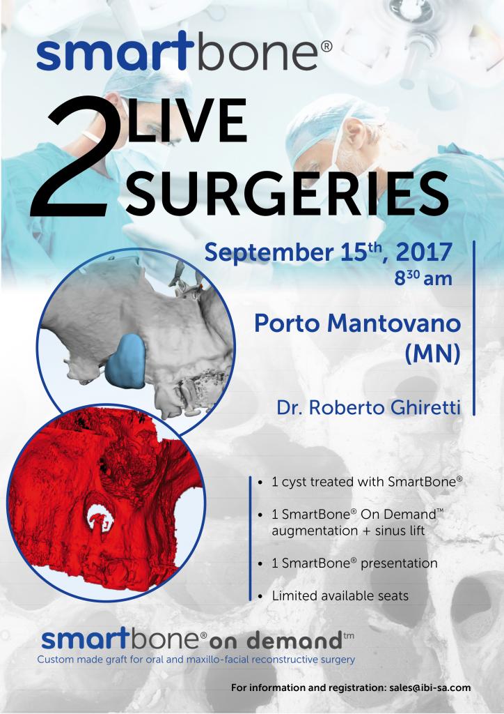 SmartBone® double live surgery