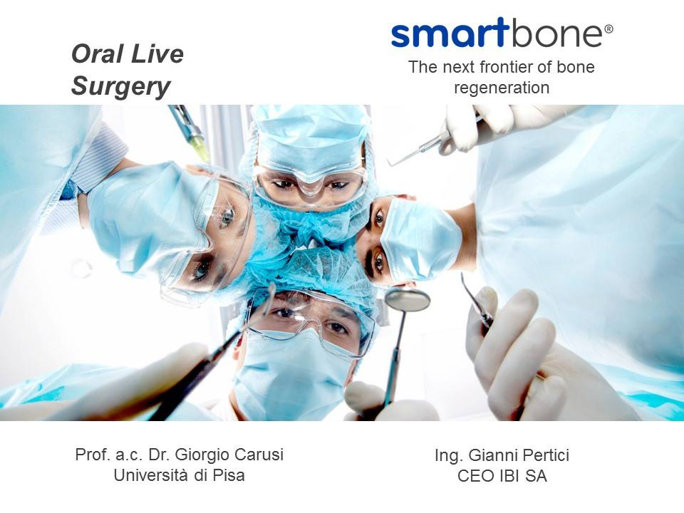 Live surgery, smartbone, Giorgio Carusi