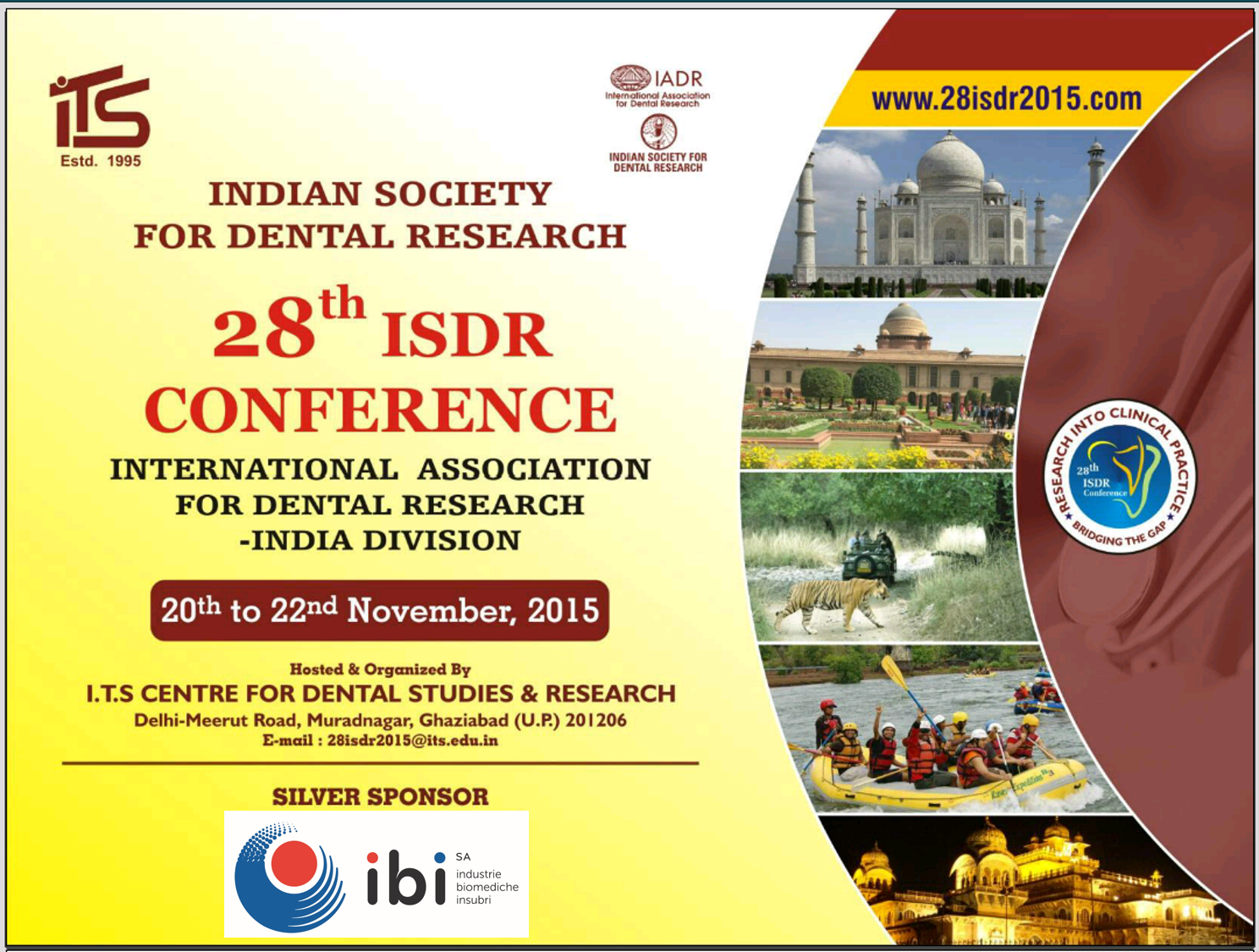 SmartBone at 28th ISDR Conference in India