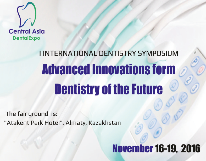 SmartBone presents at the 1st CENTRAL ASIA DENTAL EXPO