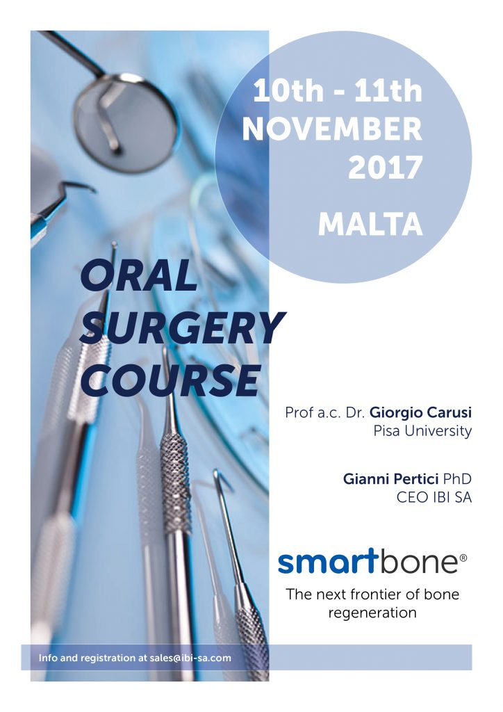 SmartBone® Oral surgery course malta