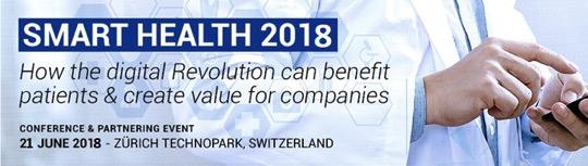 Smart Health 2018 Zürich 21 June 2018