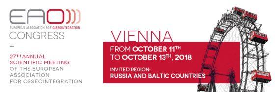 EAO 2018 Vienna, 11-13 October 2018