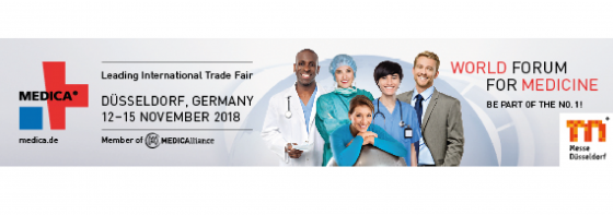 Medica 2018 Düsseldorf 12-15 November 2018