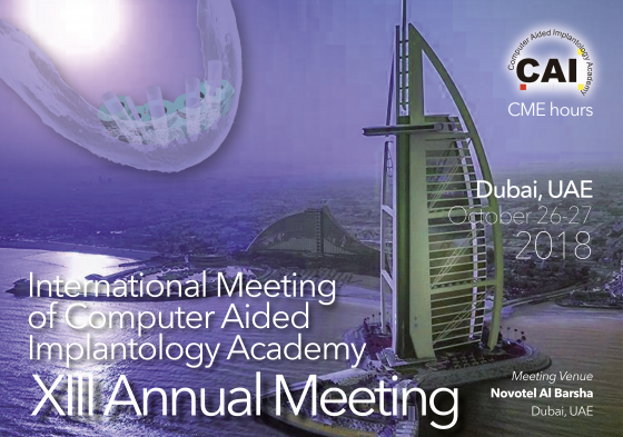 CAI 2018 Dubai, UAE 26-27 October 2018
